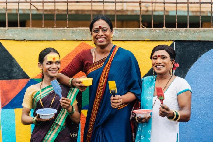 While the visibility of transgender people is increasing in popular culture and daily life, they still face severe discrimination, stigma and systemic inequality. Aravani Art Project brings about change in the way society views the community using artistic collaborations and interventions.