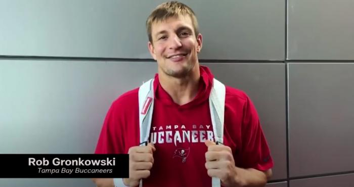 Rob Gronkowski in the NFL Coming Out Day PSA