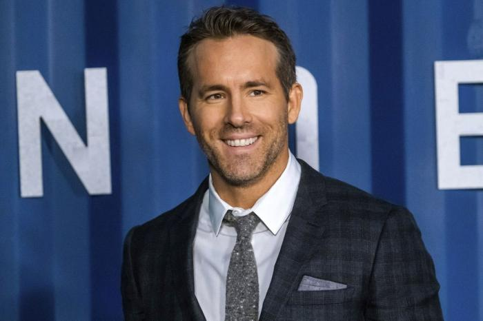 "In this Tuesday, Dec. 10, 2019 file photo, Ryan Reynolds attends the premiere of Netflix's ""6 Underground"" at The Shed at Hudson Yards on in New York."