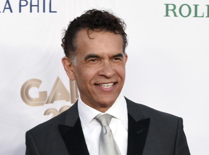 Brian Stokes Mitchell at the Los Angeles Philharmonic's Walt Disney Concert Hall Opening Night Concert and Gala in Los Angeles.