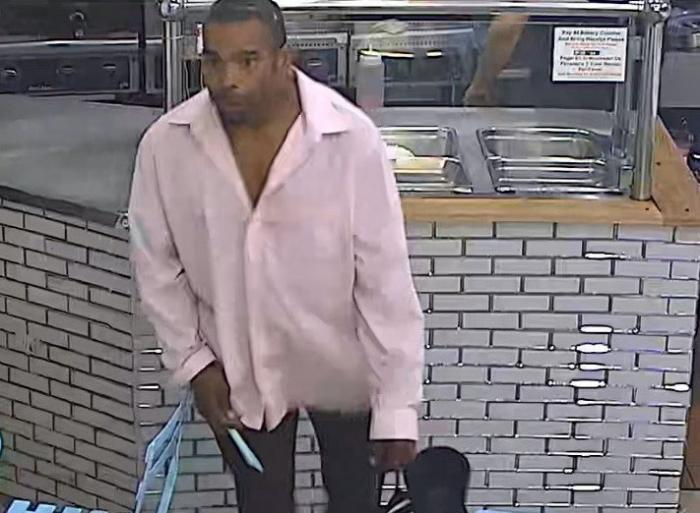 The NYPD's Hate Crimes Unit is searching for this man suspected of shouting anti-gay comments after he slashed a man in Jackson Heights. (Photo via NYPD)